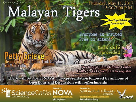 May Science Cafe Flyer