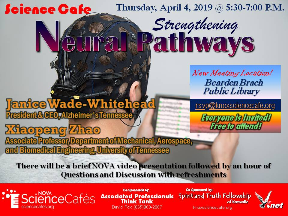April Science Cafe Flyer